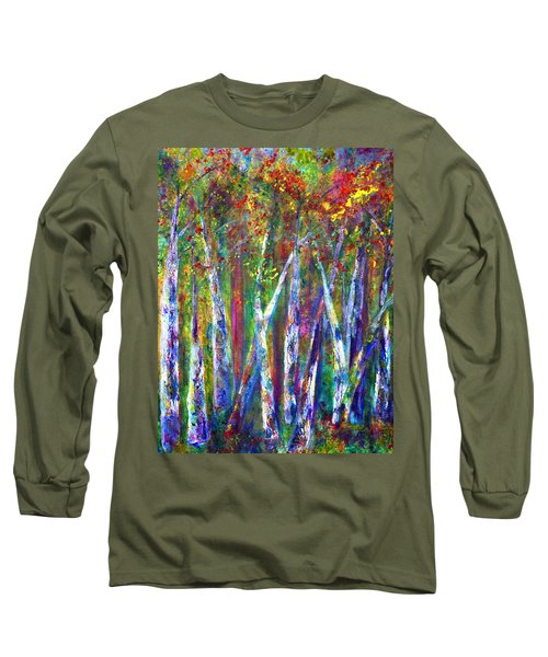Autumn In Muskoka Long Sleeve T-Shirt
