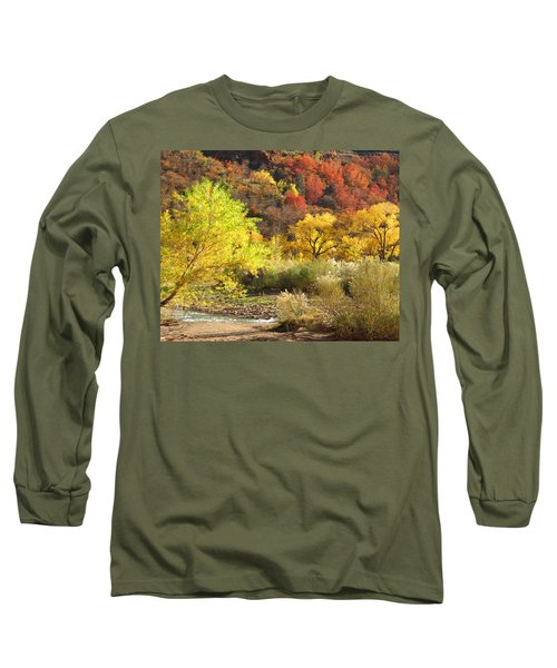 Autumn In Zion Long Sleeve T-Shirt