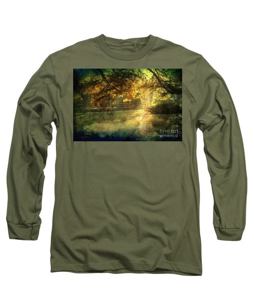 Autumn Light Long Sleeve T-Shirt by Ellen Cotton