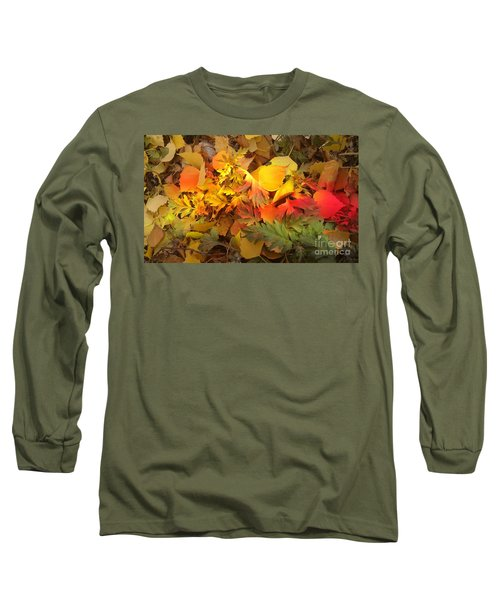 Autumn Masquerade Long Sleeve T-Shirt by Martin Howard