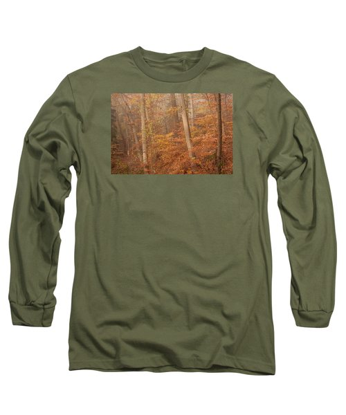 Long Sleeve T-Shirt featuring the photograph Autumn Mist by Patrice Zinck