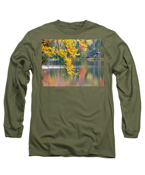 Autumn Reflection Long Sleeve T-Shirt