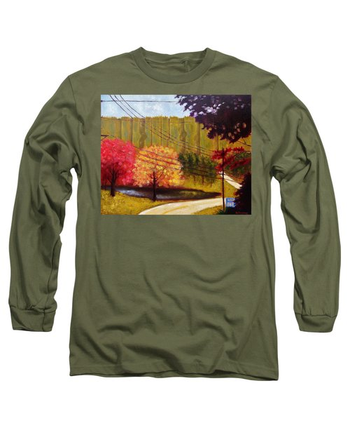 Autumn Slopes Long Sleeve T-Shirt by Jason Williamson
