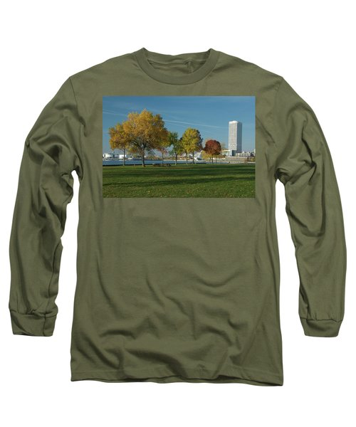 Autumn Trees Long Sleeve T-Shirt by Jonah  Anderson