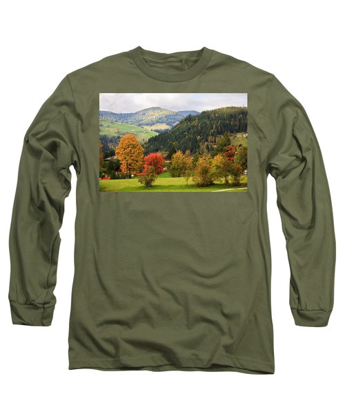 Autumnal Colours In Austria Long Sleeve T-Shirt