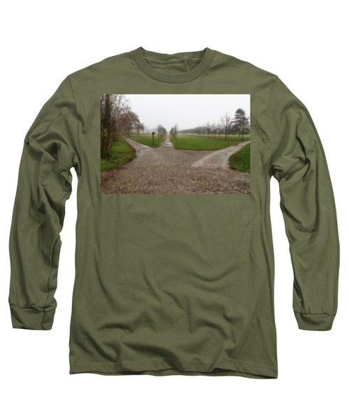 Autumnal Countryscape Long Sleeve T-Shirt