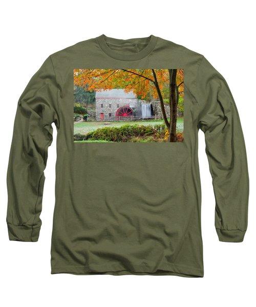 Auutmn At The Grist Mill Long Sleeve T-Shirt
