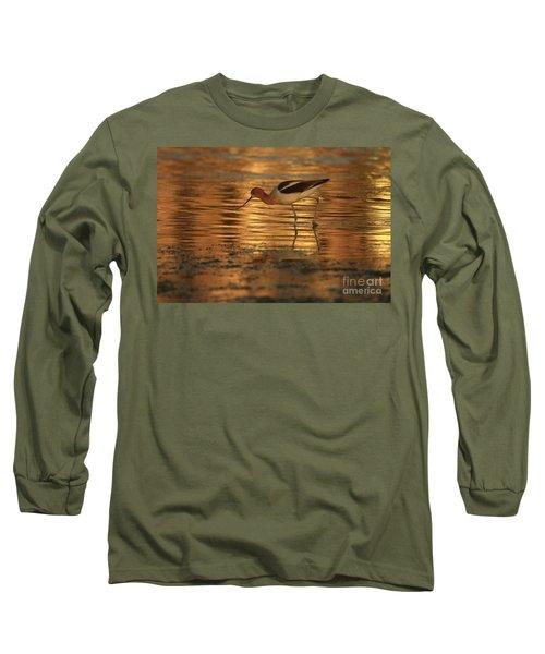 Avocet Gold Long Sleeve T-Shirt