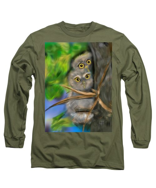 Baby Owls Long Sleeve T-Shirt