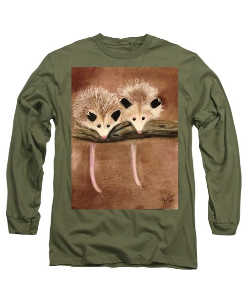 Baby Possums Long Sleeve T-Shirt