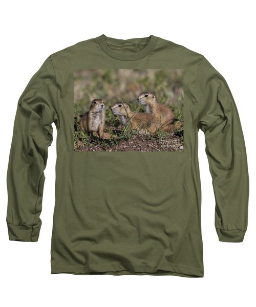 Baby Prairie Dogs Long Sleeve T-Shirt