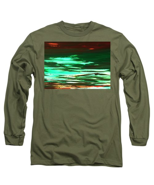 Back To Canvas The Landscape Of The Acid People Long Sleeve T-Shirt