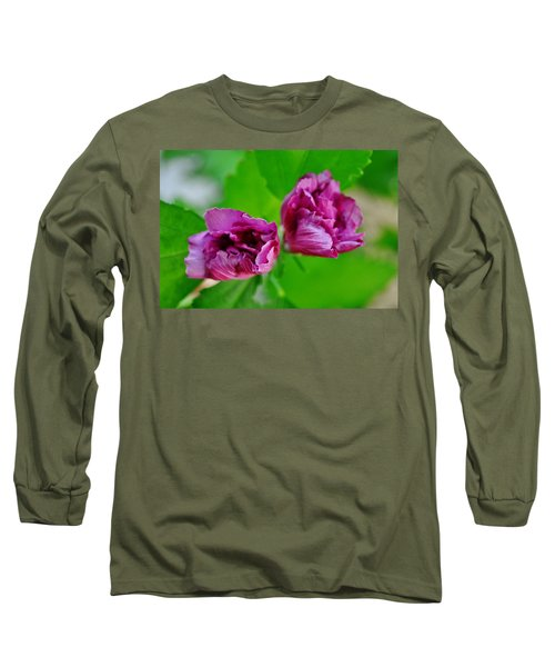 Back Yard Weed Long Sleeve T-Shirt