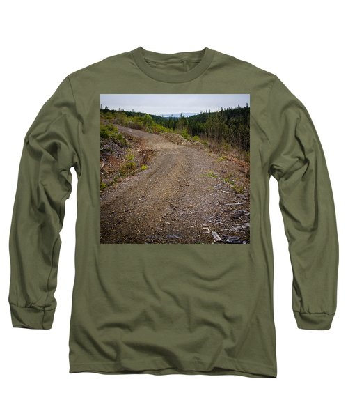 4x4 Logging Road To Adventure Long Sleeve T-Shirt