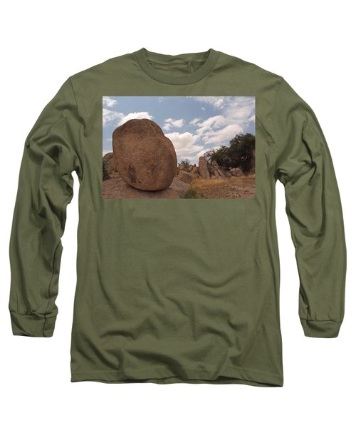 Balanced Rock Long Sleeve T-Shirt by Michael McGowan