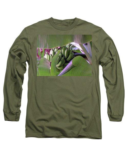 Banana Leaf Curtain Long Sleeve T-Shirt