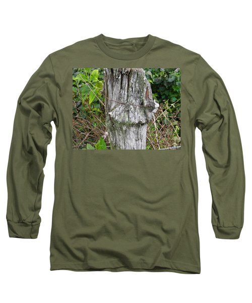 Barbwire Crown Long Sleeve T-Shirt by Nick Kirby