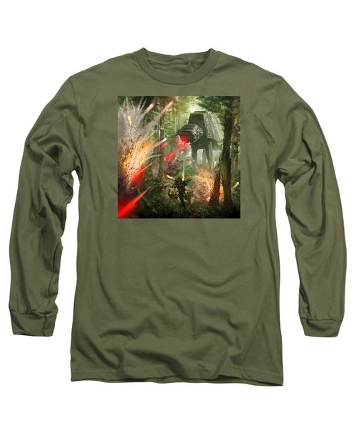 Barrage Attack Long Sleeve T-Shirt
