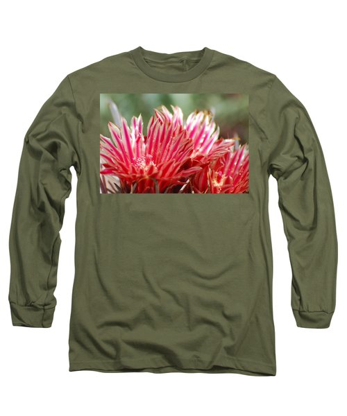 Barrel Cactus Flower Long Sleeve T-Shirt