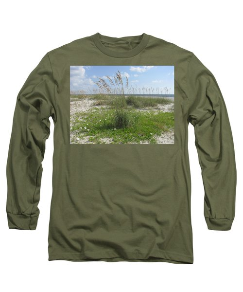 Beach Flowers And Oats 2 Long Sleeve T-Shirt