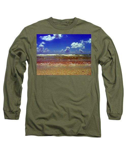 Beach Long Sleeve T-Shirt by J Anthony
