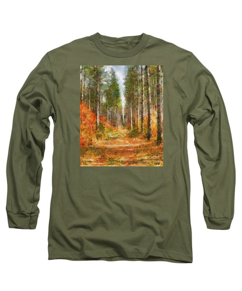 Beautiful Autumn Long Sleeve T-Shirt by Dragica  Micki Fortuna