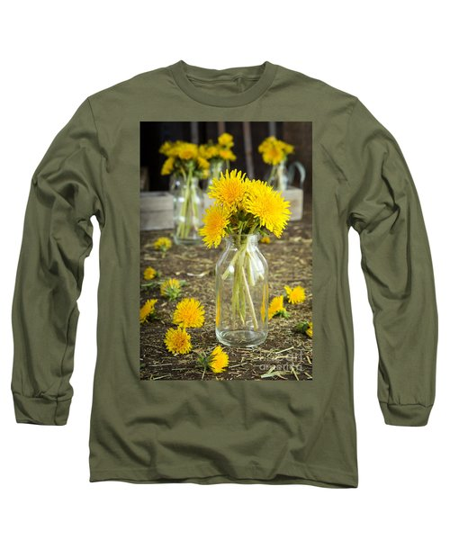 Beauty Among The Weeds Long Sleeve T-Shirt