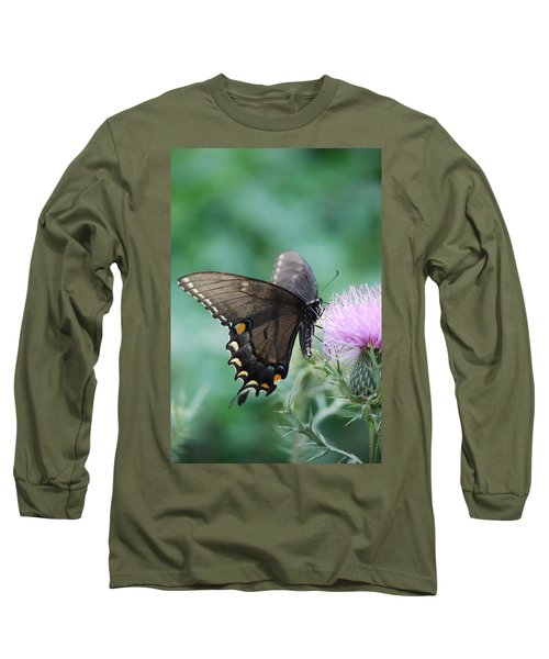 Beauty And Thistle Long Sleeve T-Shirt