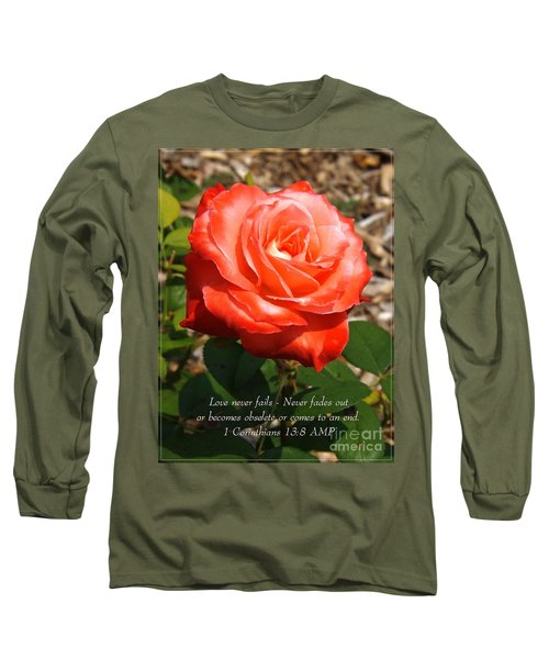 Beauty At Its Best Long Sleeve T-Shirt