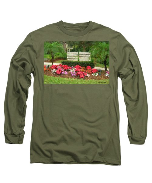 Beauty At Pelican Cove Long Sleeve T-Shirt