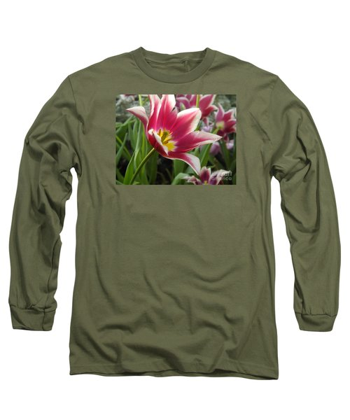 Beauty Within Long Sleeve T-Shirt by Lingfai Leung