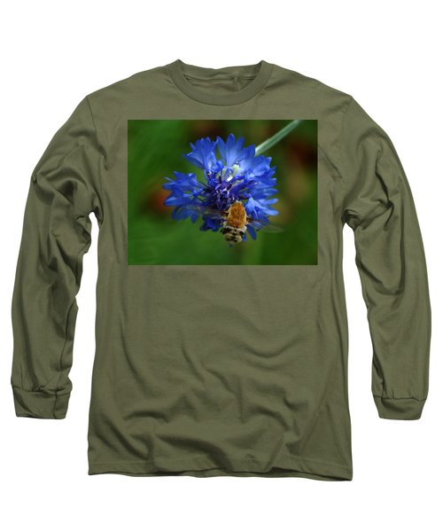 Long Sleeve T-Shirt featuring the photograph Bee by Leticia Latocki