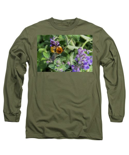 Long Sleeve T-Shirt featuring the photograph Bee Too by David Gleeson
