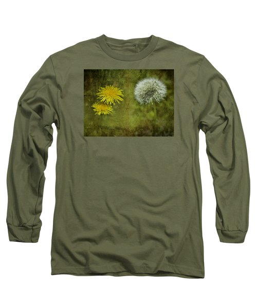 Before And After Dandelions Long Sleeve T-Shirt