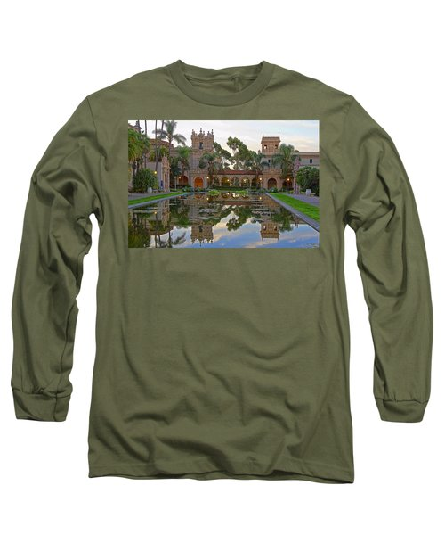Long Sleeve T-Shirt featuring the photograph Before The Crowds by Gary Holmes