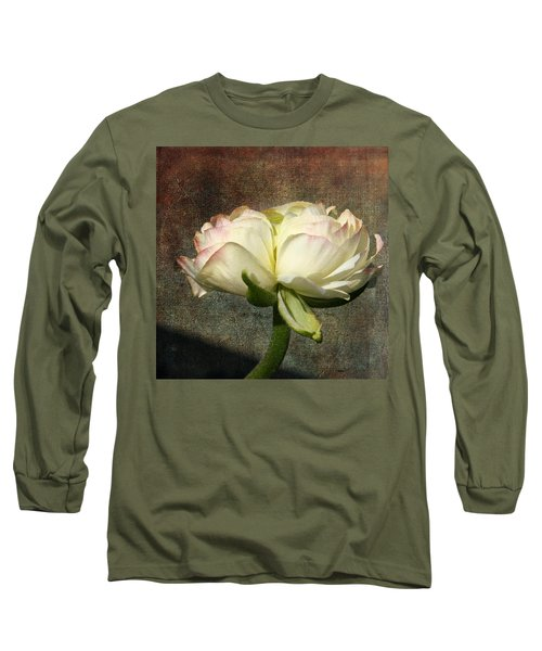 Begonia With A Tint Of Pink Long Sleeve T-Shirt
