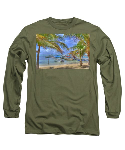 Belize Hdr Long Sleeve T-Shirt