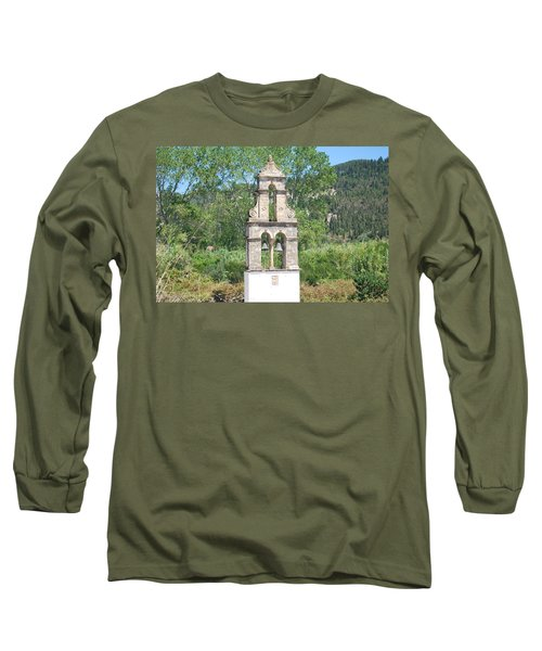 Long Sleeve T-Shirt featuring the photograph Bell Tower 1584 1 by George Katechis