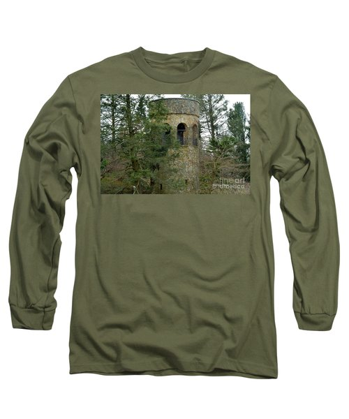 Long Sleeve T-Shirt featuring the digital art Bell Tower by Jeannie Rhode