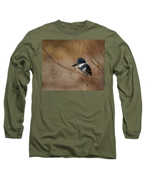 Belted Kingfisher Long Sleeve T-Shirt