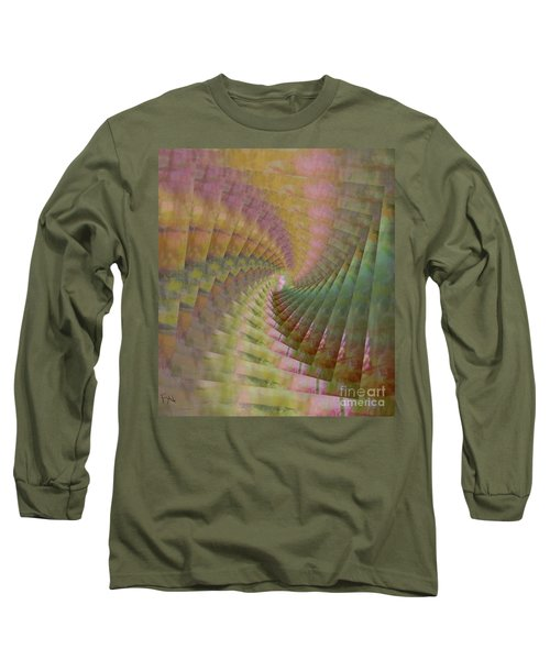 Between Heaven And Earth Long Sleeve T-Shirt by PainterArtist FIN