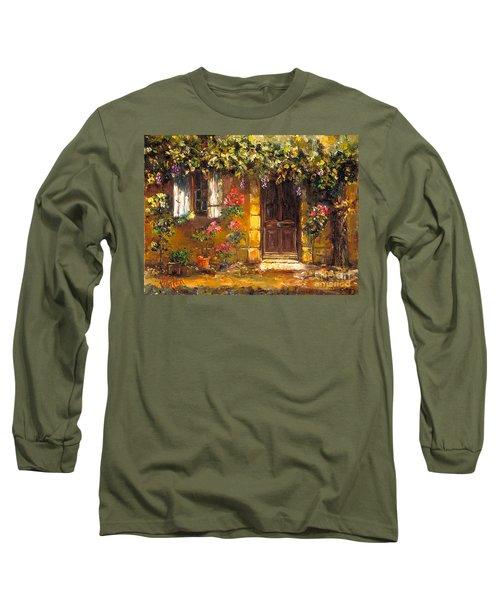 Bienvenue A' Provence Long Sleeve T-Shirt