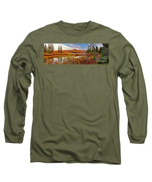 Big Lake And Mt Washington Oregon Long Sleeve T-Shirt