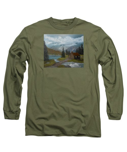 Big Storms A Comin' Long Sleeve T-Shirt by Sheri Keith