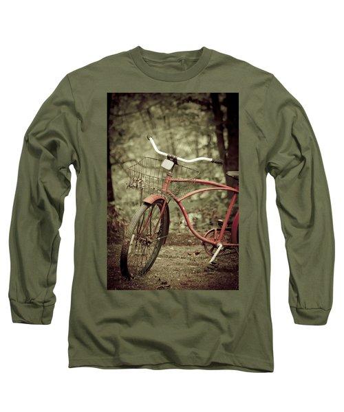 Bike Long Sleeve T-Shirt by Shane Holsclaw
