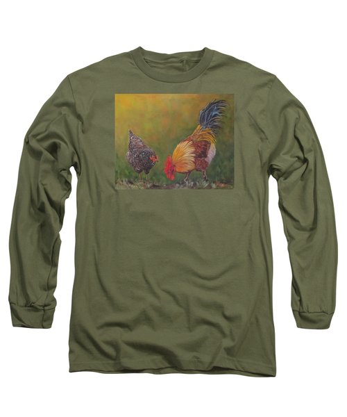 Biltmore Chickens  Long Sleeve T-Shirt