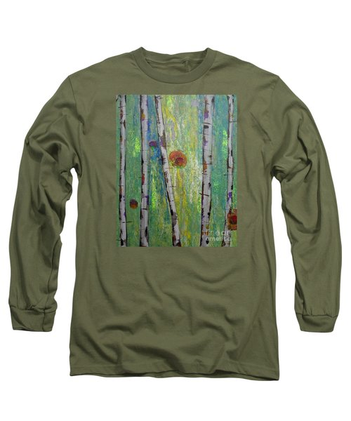 Birch - Lt. Green 5 Long Sleeve T-Shirt