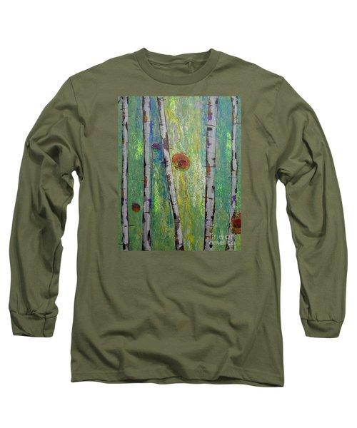 Birch - Lt. Green 5 Long Sleeve T-Shirt