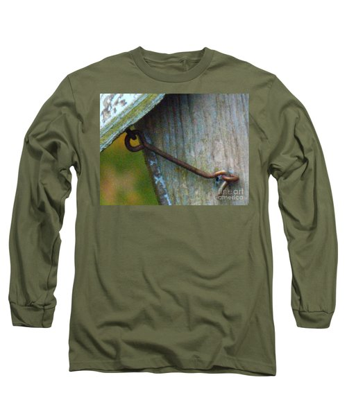 Bird Feeder Locked Memory Long Sleeve T-Shirt