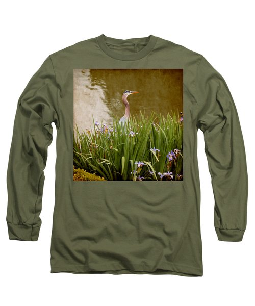 Bird In The Water Long Sleeve T-Shirt